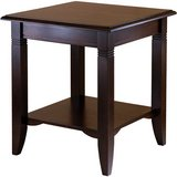 Nolan End Table (Cappuccino) - NEW! in Plainfield, Illinois