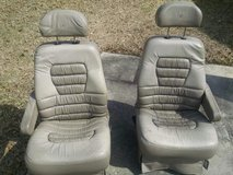 Suburban 2nd row captains chairs in DeRidder, Louisiana