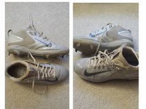 Nike - Mike Trout model metal baseball cleats size 8.5 in Naperville, Illinois