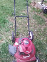 Pushmower in Fort Leonard Wood, Missouri