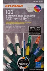 (7) Boxes of Sylvania Multi-Colored LED Christmas Lights - NEW! in Plainfield, Illinois