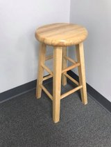 """24"""" Counter Stool (Natural Finish) in Plainfield, Illinois"""