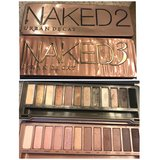 Urban Decay Naked 2 & 3 Pallette in Glendale Heights, Illinois