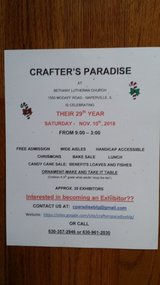 Crafter's Paradise in Glendale Heights, Illinois