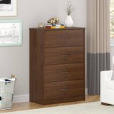 Mainstays 4-Drawer Easy Glide Dresser (Medium Oak) - NEW! in Oswego, Illinois