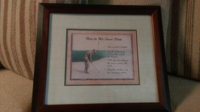 Framed Golf print in Perry, Georgia