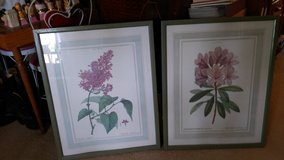 Pair of floral prints in Perry, Georgia
