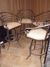 Four Nice Swivel Barstools in Livingston, Texas