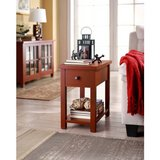 BHG End Table or Nightstand (Red Oak) - NEW! in Naperville, Illinois