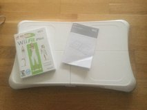 Wii fit plus and Wii console in Wiesbaden, GE