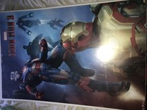 Iron man 3 movie poster in Fort Leonard Wood, Missouri