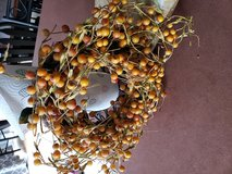 Small berry wreath in Yorkville, Illinois