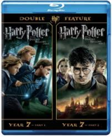 NEW Harry Potter The Deathly Hallows Part 1 & 2 Double Feature: Set Year 7 DVD / Blu-Ray in Oswego, Illinois