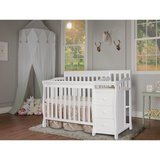 Dream On Me Convertible Crib and Changer (White) - NEW! in Oswego, Illinois