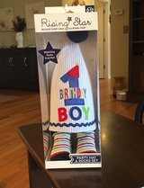 Birthday Boy Hat & Socks in Naperville, Illinois