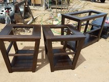 Cocktail table and 2 end tables in Yucca Valley, California