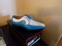 Brand new Turquoise and white men dress shoe in Beaufort, South Carolina