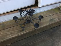 Wrought Iron Candleholder For Table Umbrella in Fort Campbell, Kentucky