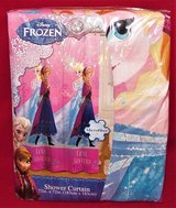 "Disney Frozen Shower Curtain Love Sisters Friends Microfiber 72"" x 72"" Anna Elsa in Tacoma, Washington"