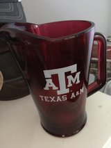 A&M, glass pitcher, pitcher in Tomball, Texas