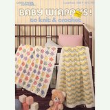 1985 BABY AFGHANS / WRAPPERS to KNIT CROCHET, 4 Patterns LA #397 in Naperville, Illinois
