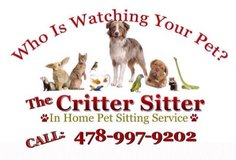 Do you NEED a DEPENDABLE Pet Sitter? in Warner Robins, Georgia