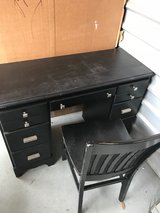 Black Desk & Chair in Kingwood, Texas