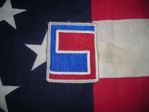 Original WW-2 U.S. Army 69TH Infantry Division Patch in Camp Lejeune, North Carolina