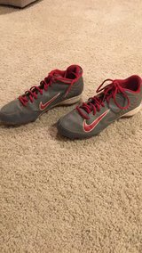 Men's Size 9.5 Nike Metal Baseball Cleats in Glendale Heights, Illinois