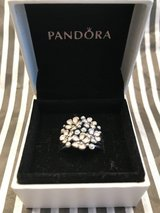 Pandora Cherry Blossoms and Pearl Cluster Ring in San Diego, California