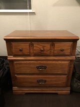 3 drawer small dresser/nightstand in Travis AFB, California
