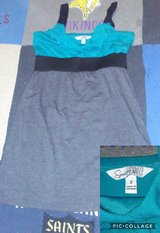 teal black and gray dress in Fort Campbell, Kentucky