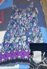 summer dress multi color with purple in Fort Campbell, Kentucky