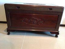 Rosewood Dragon Chest with Camphor lining in Okinawa, Japan