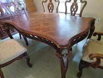 dining table with extension and six chairs in Lake Charles, Louisiana