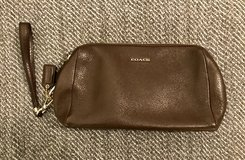 Coach Brown Wristlet in San Diego, California