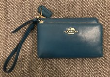 Coach Dark Teal Wristlet in San Diego, California