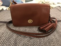 Coach Legacy Cognac Tassel Penny Shoulder bag in San Diego, California