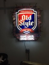 Old Style Bar Sign in Plainfield, Illinois