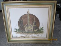 Reduced!! Framed Oil Painting by Dropez in Aurora, Illinois