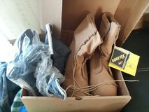 size11 brand new boots and cold weather inserts in Fort Riley, Kansas