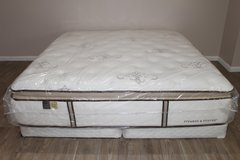 King Size Mattress - Stearns and Fosters - Casa Loma Luxury Firm in Spring, Texas