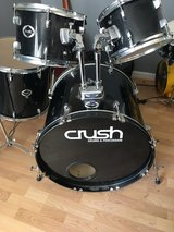 Very Nice Youth Size Crush Drum Set 7 Piece in Warner Robins, Georgia