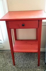 Little RED table w/drawer in Fort Bliss, Texas