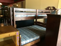 Twin Over Full Wood Bunkbed w/Drawers In Stairs in Leesville, Louisiana