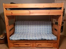 Wood Bunk Bed in Oswego, Illinois