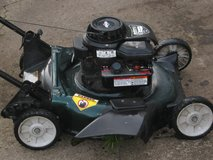 cheap running push mower ..TRADES? warranty in Fort Campbell, Kentucky