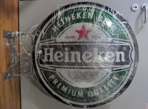 HUGE!!! Two-sided Electric Heineken Beer Sign in Stuttgart, GE