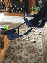 Folding Chair w/ Footrest and Bag in Fort Campbell, Kentucky