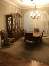 Dining Table and Cabinet in Houston, Texas